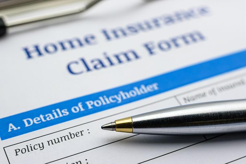 Concord Roofing insurance claim form