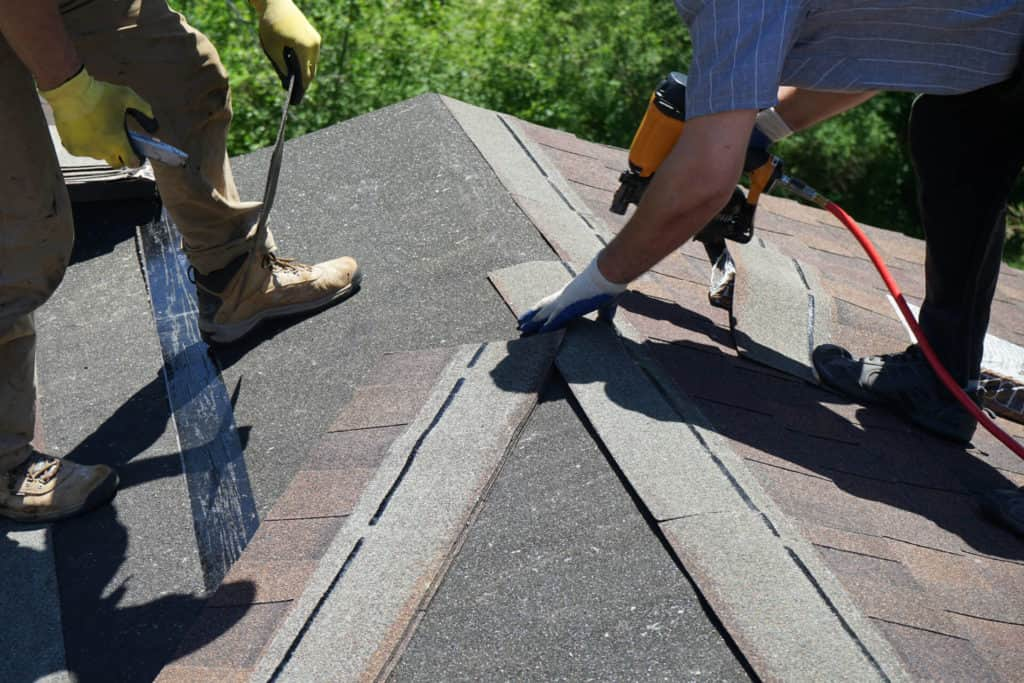 Roofing Contractors on Roof in Texas